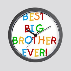 Best Big Brother Ever Wall Clock