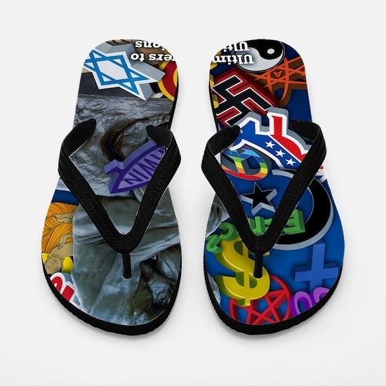 projecThink dark blue Flip Flops