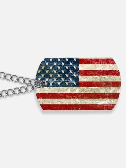 USA Patriotic Dog Tags