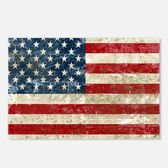USA Patriotic Postcards (Package of 8)
