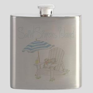 SSI Beach Flask