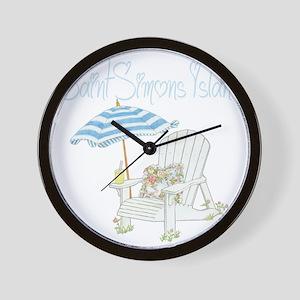 SSI Beach Wall Clock