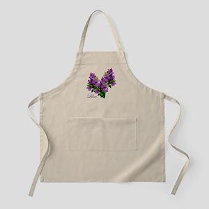 Lilacs BBQ Apron