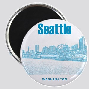 Seattle_10x10_SeattleWatefront_v6 Magnet