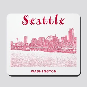 Seattle_10x10_SeattleWatefront_v2 Mousepad