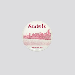 Seattle_10x10_SeattleWatefront_v2 Mini Button