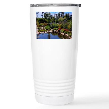 Coastal Maine Botanical Stainless Steel Travel Mug