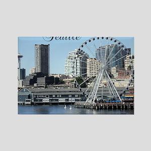 Seattle_9.5x8_Mousepad_SeattleWat Rectangle Magnet