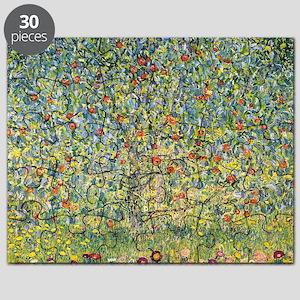 Apple Tree by Gustav Klimt, Vintage Art Nou Puzzle