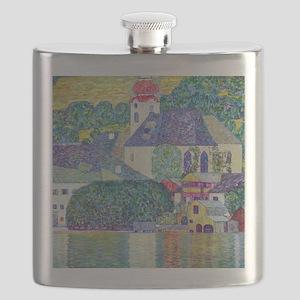Gustav Klimt, St. Wolfgang Church, Victorian Flask