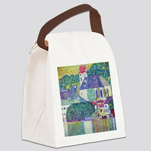 Gustav Klimt, St. Wolfgang Church Canvas Lunch Bag