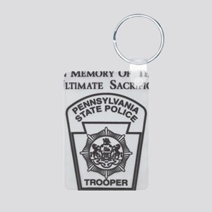 Helping Pennsylvania State Aluminum Photo Keychain