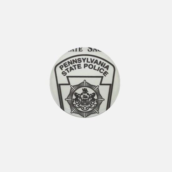 Helping Pennsylvania State Police Mini Button