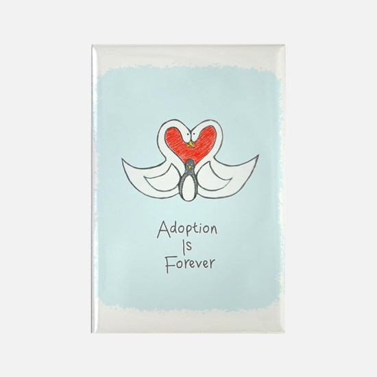 Adoption is Forever Rectangle Magnet