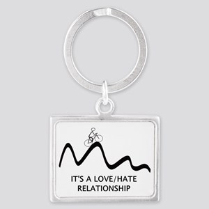 Cyling : Love Hate Relationship Landscape Keychain