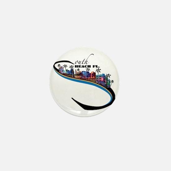 south beach Mini Button