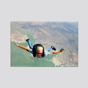 Skydive Rectangle Magnet