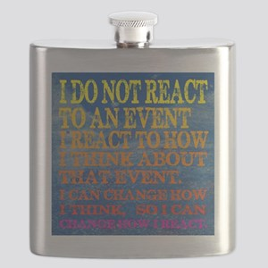 I can change how I reaction T-shirt Flask
