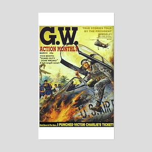 G.W. Action Monthly Magazine Sticker