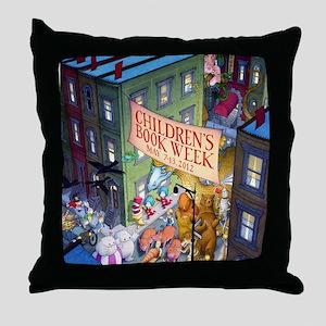 2012 Childrens Book Week Throw Pillow