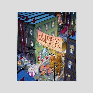 2012 Childrens Book Week Throw Blanket
