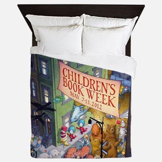 2012 Childrens Book Week Queen Duvet