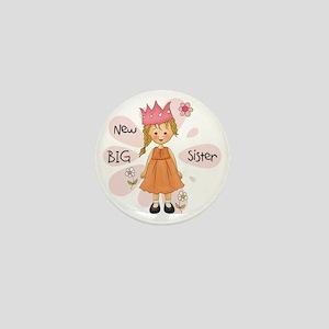 Blond Princess Big Sister Mini Button