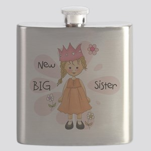Blond Princess Big Sister Flask