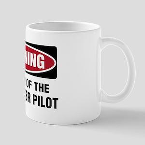 Warning Heli Pilot Mug