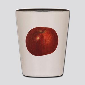 Vintage Food, Red Delicious Organic App Shot Glass