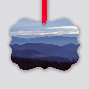 Blue Ridge Picture Ornament