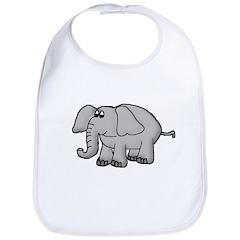 Elephant Animal Design Bib
