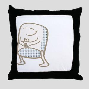 Dont Harsh My Mallow Throw Pillow