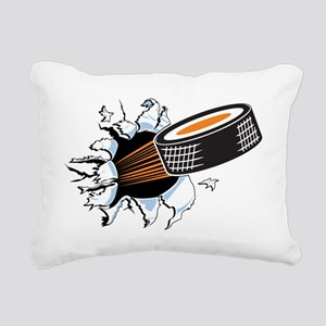 Hockey Rectangular Canvas Pillow