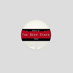Texas Nickname #2 Mini Button