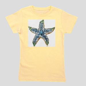 Starfish Vintage Rhinestone Costume Jew Girl's Tee