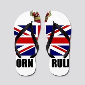Royal Crown Rule Flip Flops