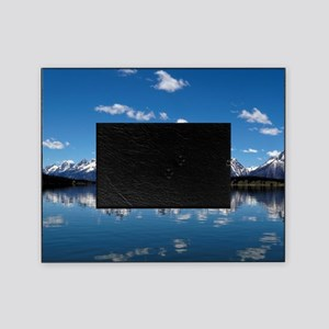 GRAND TETON - JACKSON LAKE Picture Frame