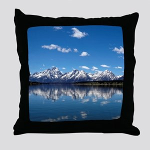 GRAND TETON - JACKSON LAKE Throw Pillow