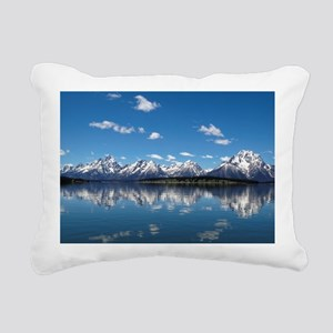 GRAND TETON - JACKSON LA Rectangular Canvas Pillow