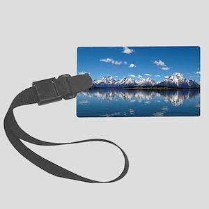 GRAND TETON - JACKSON LAKE Large Luggage Tag