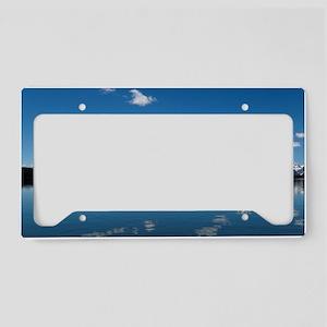 GRAND TETON - JACKSON LAKE License Plate Holder