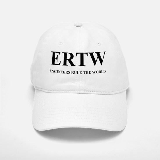 ERTW - ENGINEERS RULE THE WORLD Baseball Baseball Cap