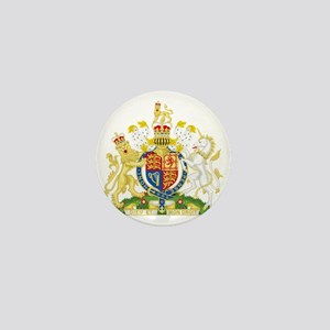 Royal Coat of Arms Mini Button