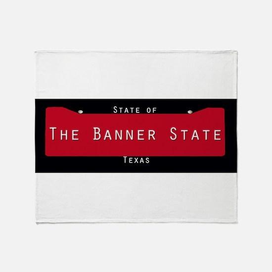 Texas Nickname #3 Throw Blanket