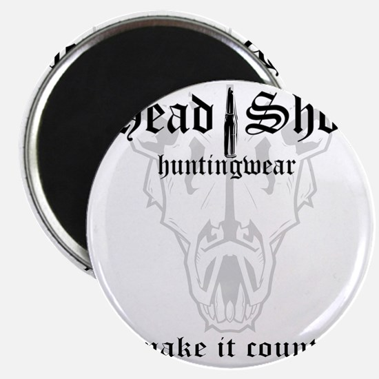 HeadShot HuntingWear Make it Count Magnet