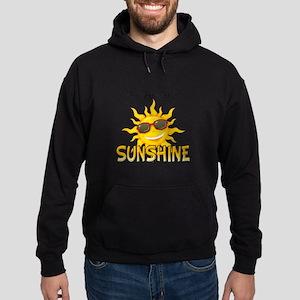 You are my sunshine Hoodie (dark)