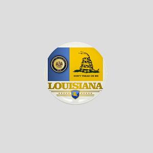 Louisiana Gadsden Flag Mini Button