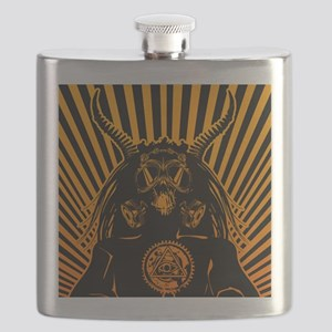 Dissident_masked_allover Flask