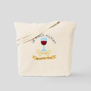Merlot Wine Taster Tote Bag